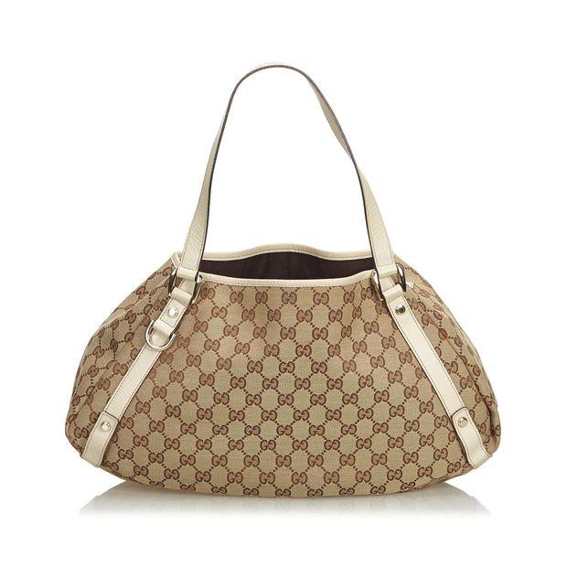 d7ec1401ca63 GG Jacquard Pelham Tote Bag by GUCCI   StyleTribute.com
