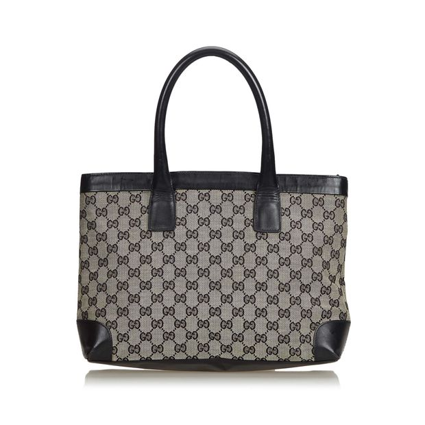 3027238a5c11ad GG Canvas Tote by GUCCI | StyleTribute.com
