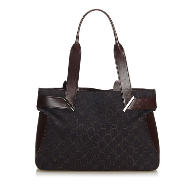 b1f37105d6e GG Canvas Handbag by GUCCI