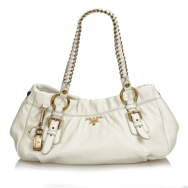 083707b02515 Cervo Lux Chain Shoulder Bag by PRADA | StyleTribute.com