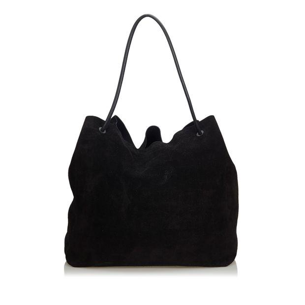 76dd1f717c1 Suede Tote Bag by GUCCI