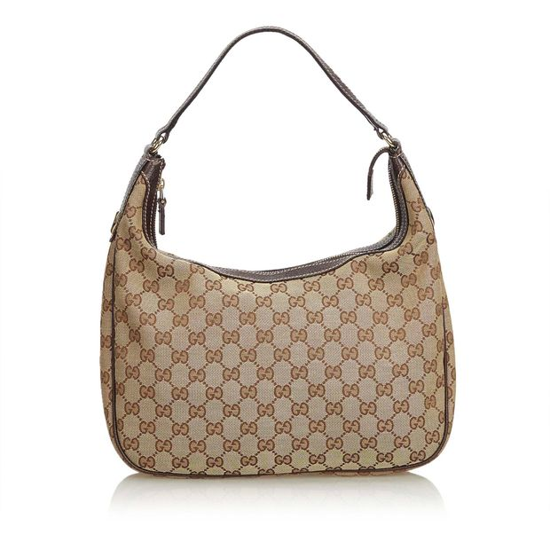 01b27260c8 GG Jacquard Shoulder Bag by GUCCI | StyleTribute.com