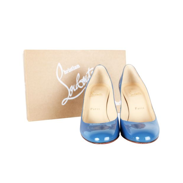 4489f523408 MIss Gena 85 Patent Royal Blue