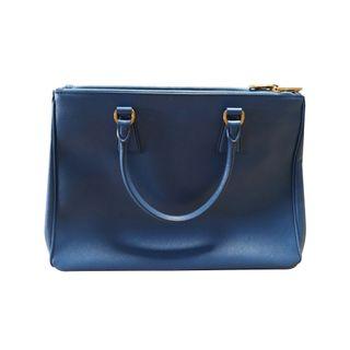 9d909c78d95a PRADA. Cornflower Saffiano Lux Bag
