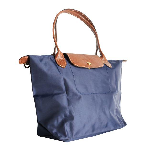 2b7c3462e8 Dark blue Tote Bag by LONGCHAMP   StyleTribute.com