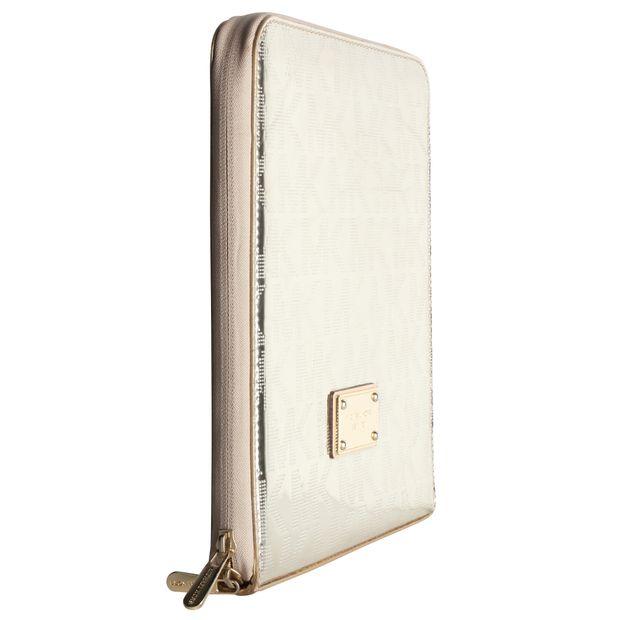 Toppkvalité billig löparskor Authentic Second Hand Gold iPad Case by MICHAEL KORS ...
