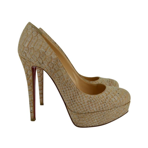 reputable site a4429 986ef HIGH HEELS WITH SNAKESKIN PATTERN