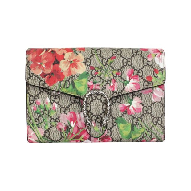 0443d442e Dionysus Blooms Print Mini Chain Bag by GUCCI | StyleTribute.com